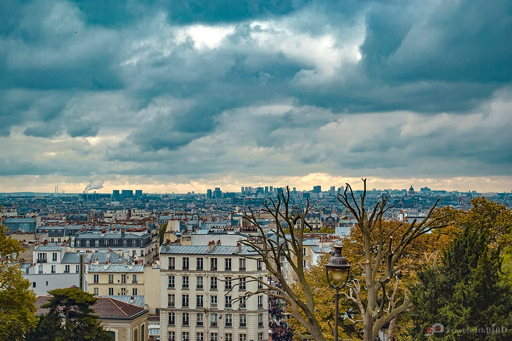 Overall view of Paris