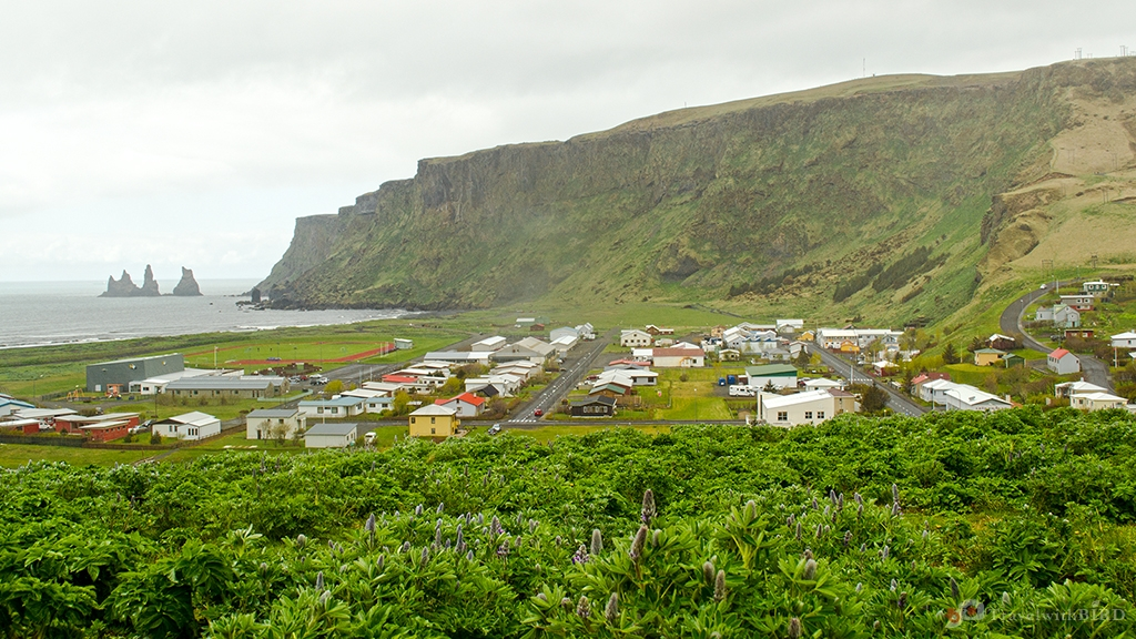 View over Vik
