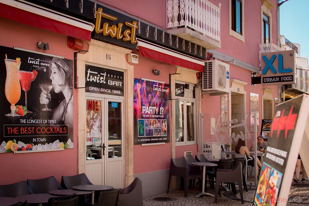 Party locations in Albufeira