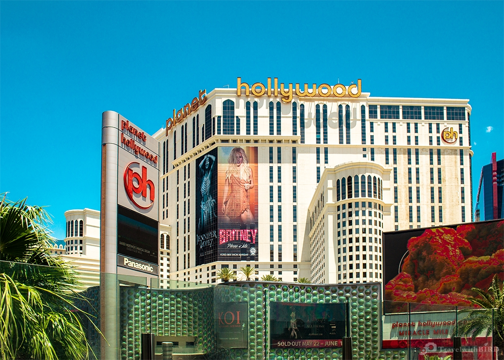 Planet Hollywood in Vegas