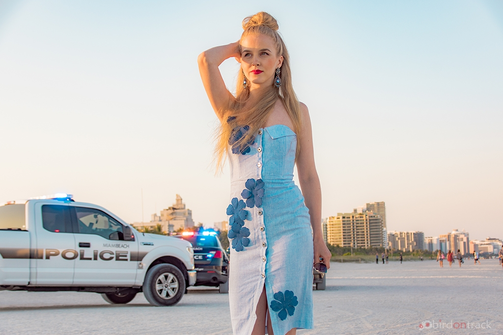 Police at Miami Beach