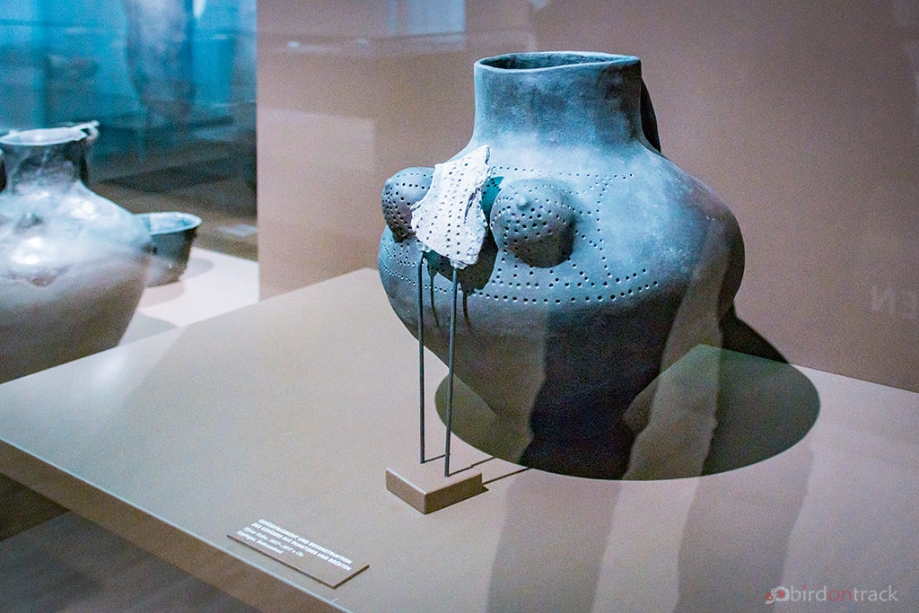 Pottery from 3800 BC