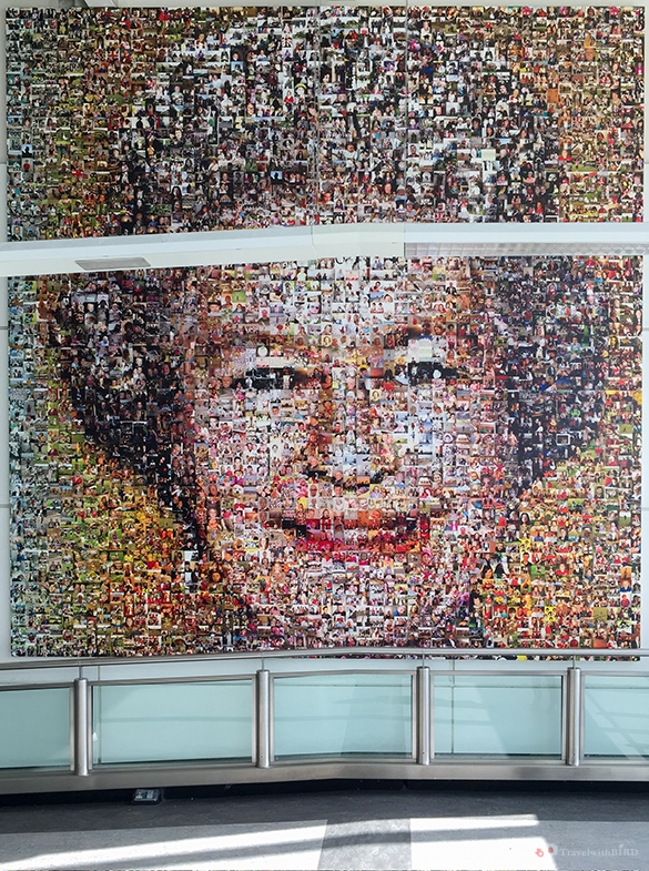 Queen Elisabeth in Gatwick