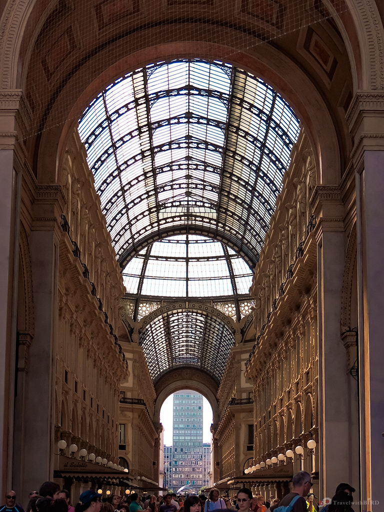 Shopping passage of Milano