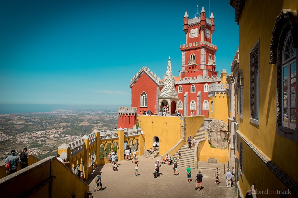 Sintra in yellow and red