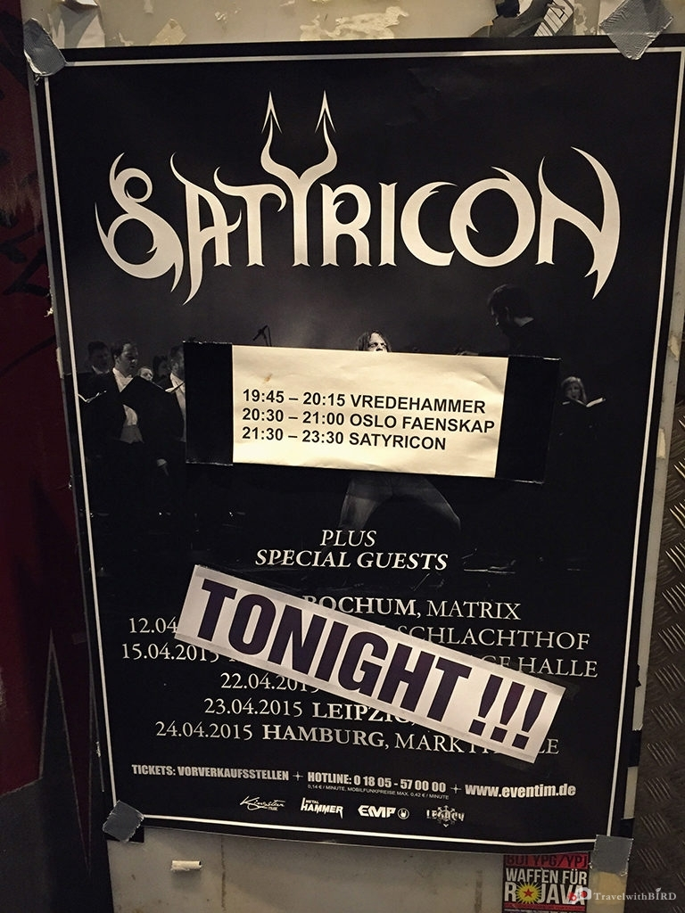 Satyricon Tonight!