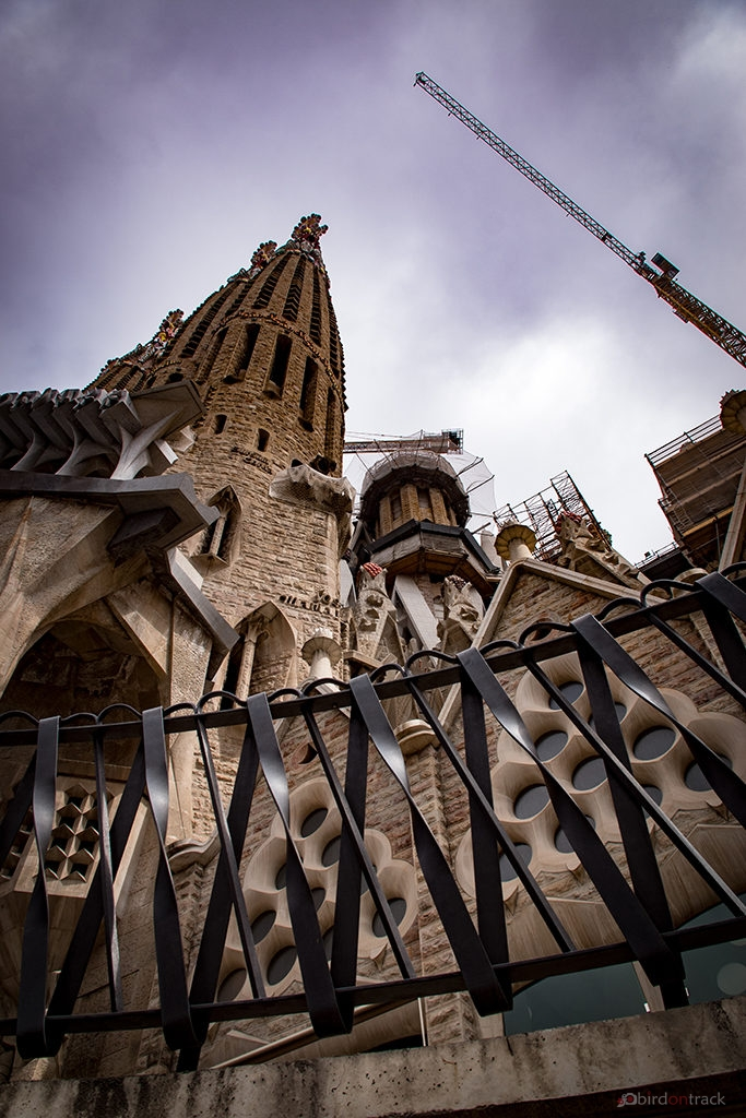 South tower of Sagrada Familia