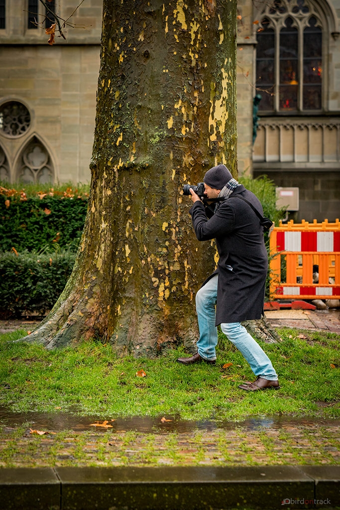 Taking a photo of the photographer - © Evgeni Zhdanov