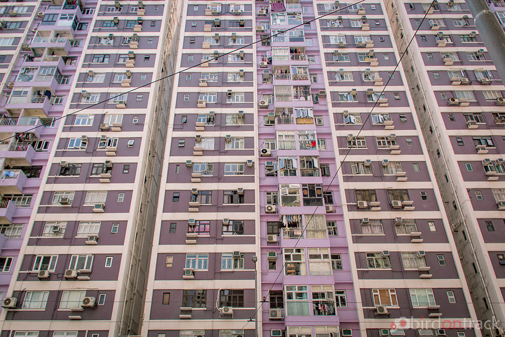 Tall buildings in Quarry bay Hong Kong