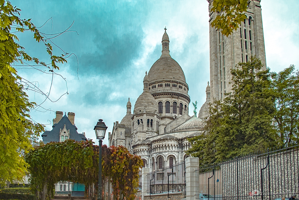 The Holy heart of Paris