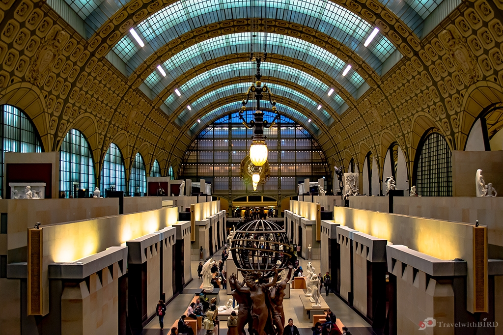 The Museum d'Orsay 1st floor