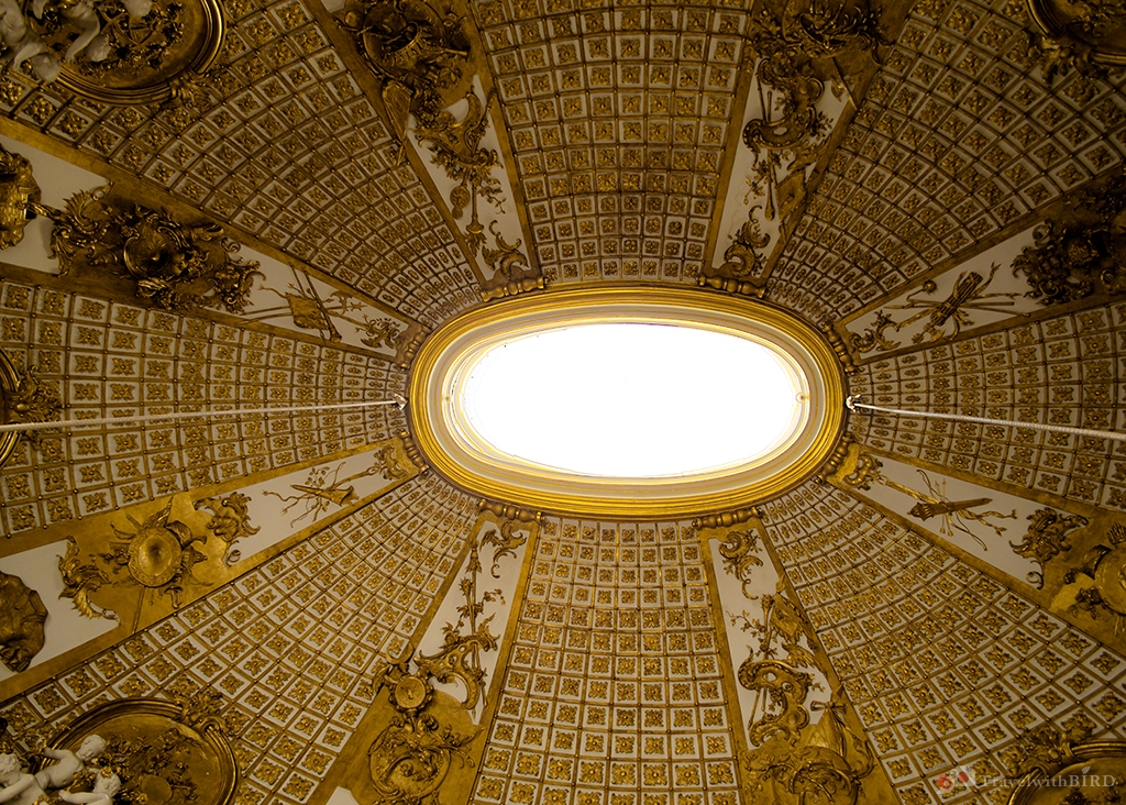 The Open roof in the Palace Sanssouci