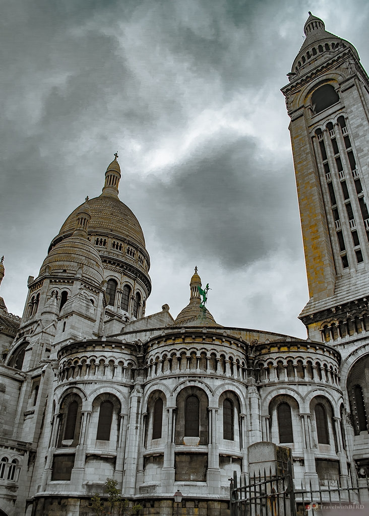 The Sacre Coeur de Paris