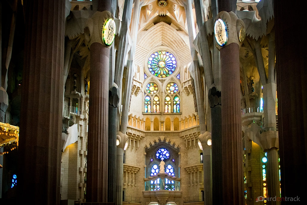 The altar of Sagrada Familia