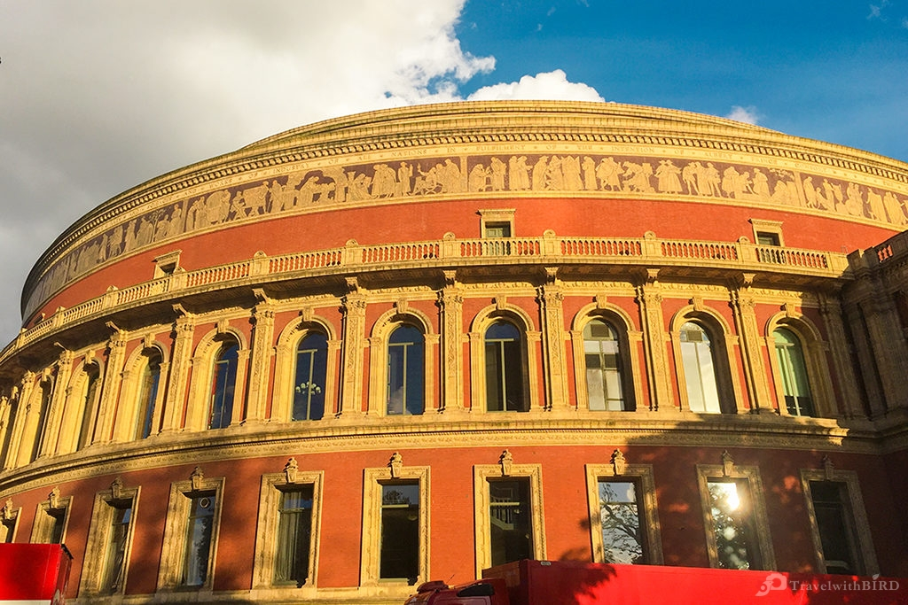 The legendary Royal Albert Hall