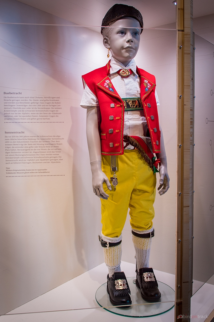 Traditionelle Appenzeller Tracht