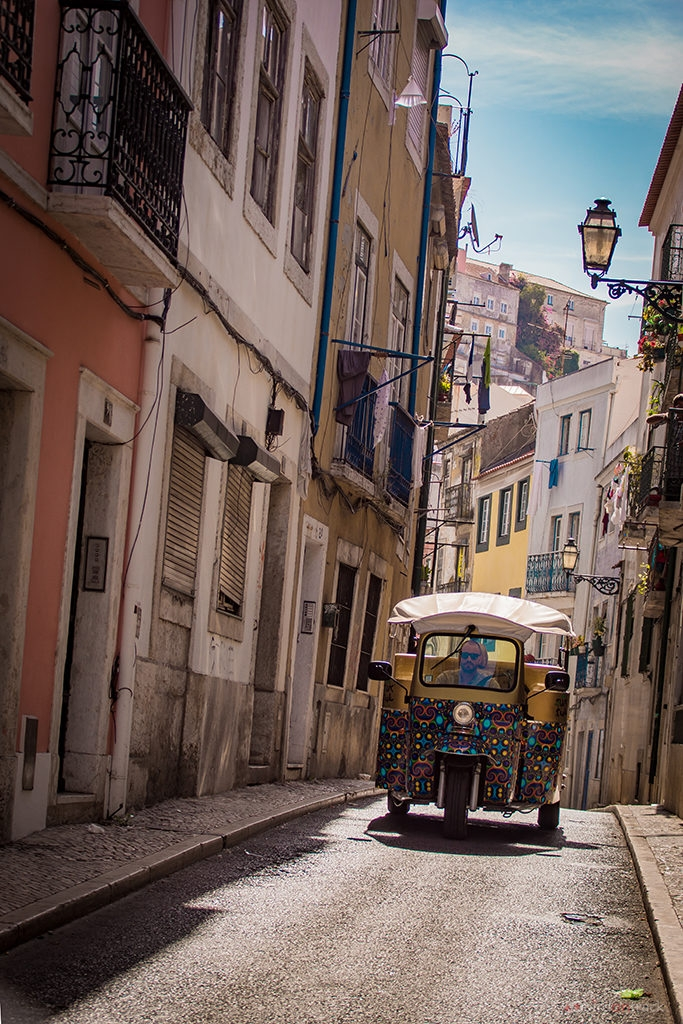 Tuk Tuk in Lisboa