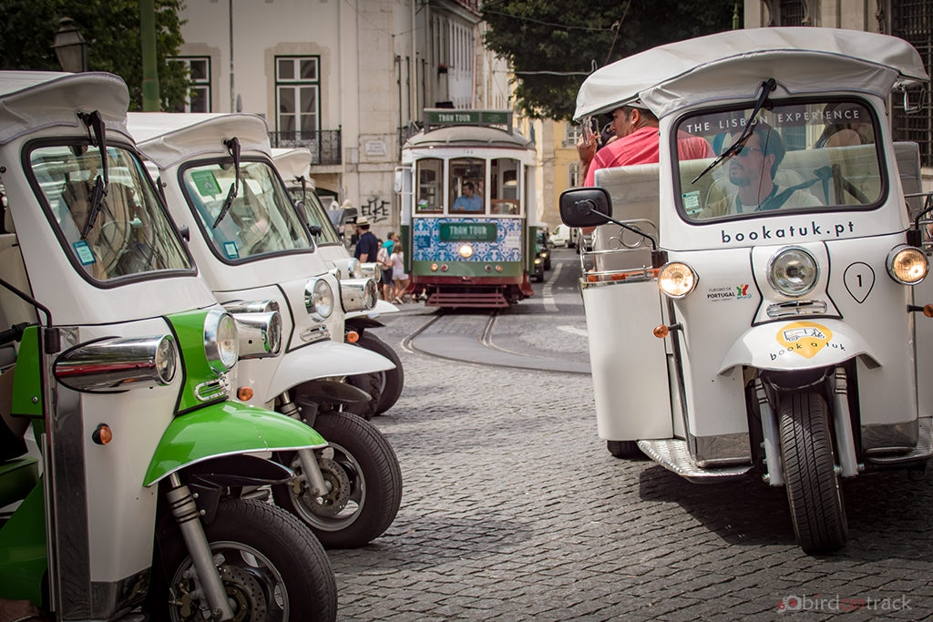 Tuktuks of Lisbon