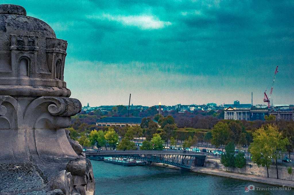 View from Orsay over the Seine