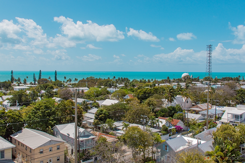View from the Key West lighthouse