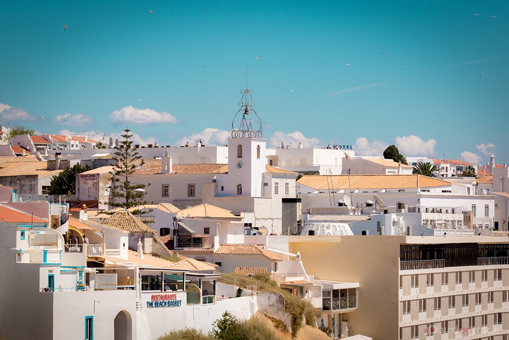 View over Albufeira