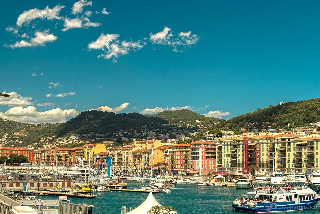 View to the Port of Nice